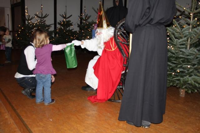 Bild von Nikolausfeier in der Schützenhalle