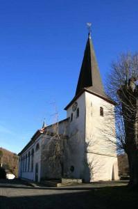 Turm der Pfarrkirche Oedingen