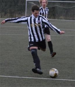 Erzielte zwei Treffer am Sonntag: Fabian Düperthal