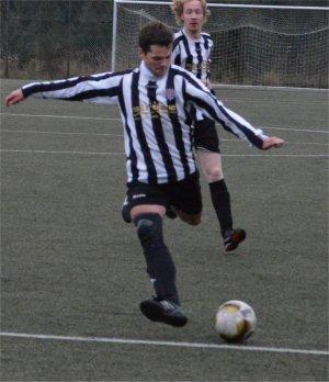 Fabian Düperthal traf zum zwischenzeitlichen 2:0