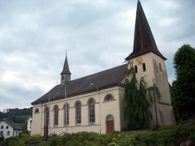 Die denkmalgeschützte Pfarrkirche Oedingen