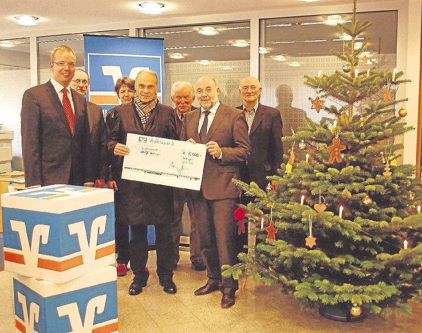 Bild von Volksbank spendet Oedinger Bürgerschaft 5000 Euro