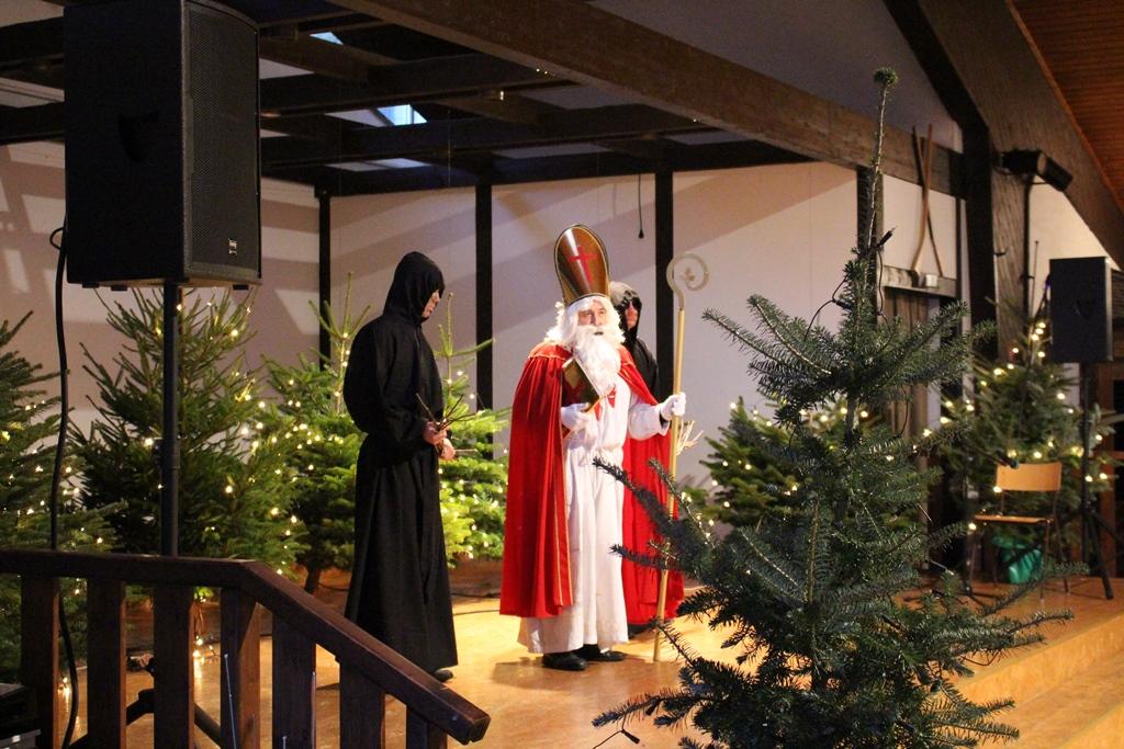 Bild von Leuchtende Kinderaugen bei der Nikolausfeier
