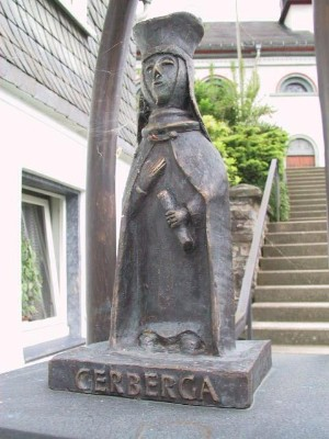 Gräfin Gerberga - Stifterin des Klosters Oedingen
