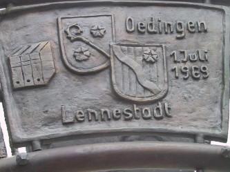 Kommunale Neugliederung - Übergang zur Stadt Lennestadt