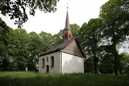 Kapelle St. Johannes - ein geschichtsträchtiger Ort. Hier stand das Kloster Oedingen mit dem alles begann