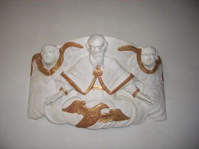 Gottvater - Von der alten Kanzel