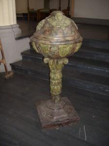 Der Taufbrunnen aus dem Jahre 1671
