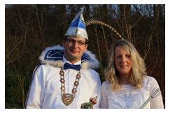 Das noch amtierende Prinzenpaar - Carsten I. und Manuela II.