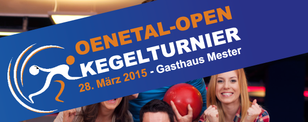Bild von Kegelturnier 2015 – Spielplan Qualifikationsrunde jetzt online