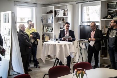 Als Vertreter der Stadt Lennestadt richtete der Beigeordnete Karsten Schürheck einige Worte an die Besucher