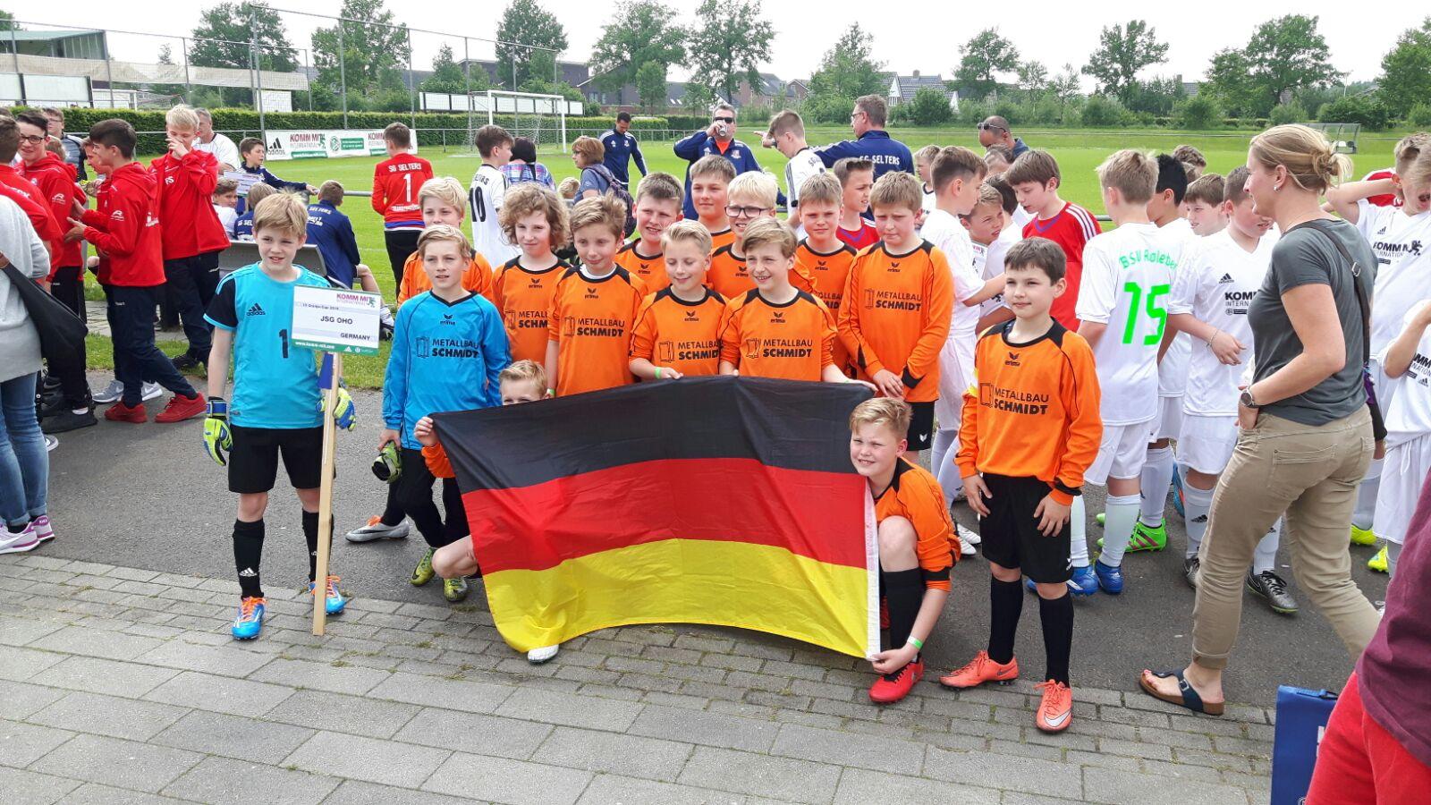 Bild von E-Jugend beim Oranje-Cup – Ein Fußballabenteuer in den Niederlanden
