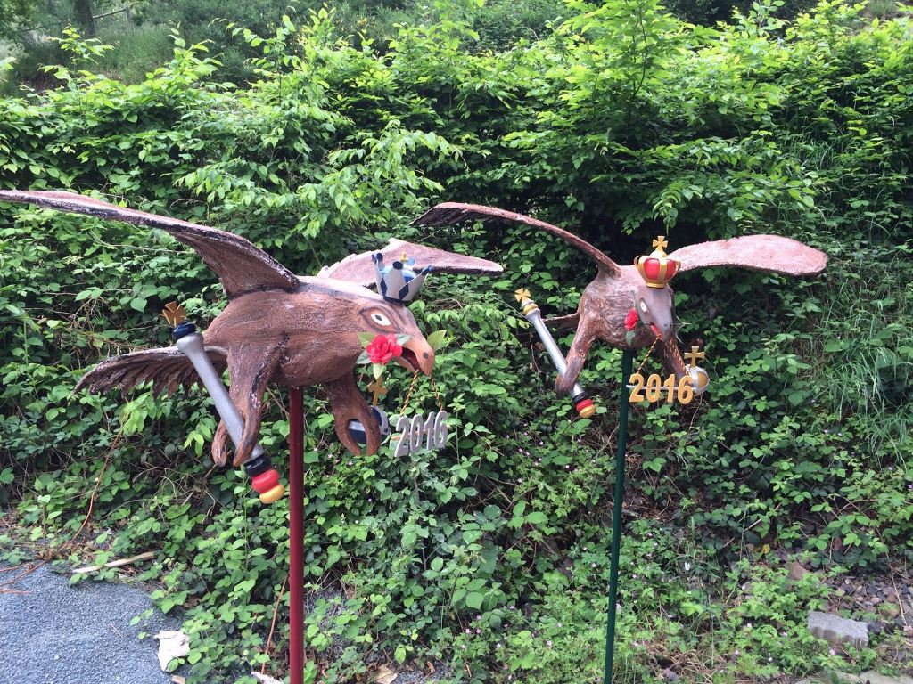 Bild von Schützenvögel 2016 offiziell vorgestellt – Vogelbauer leisten wieder Meisterarbeit