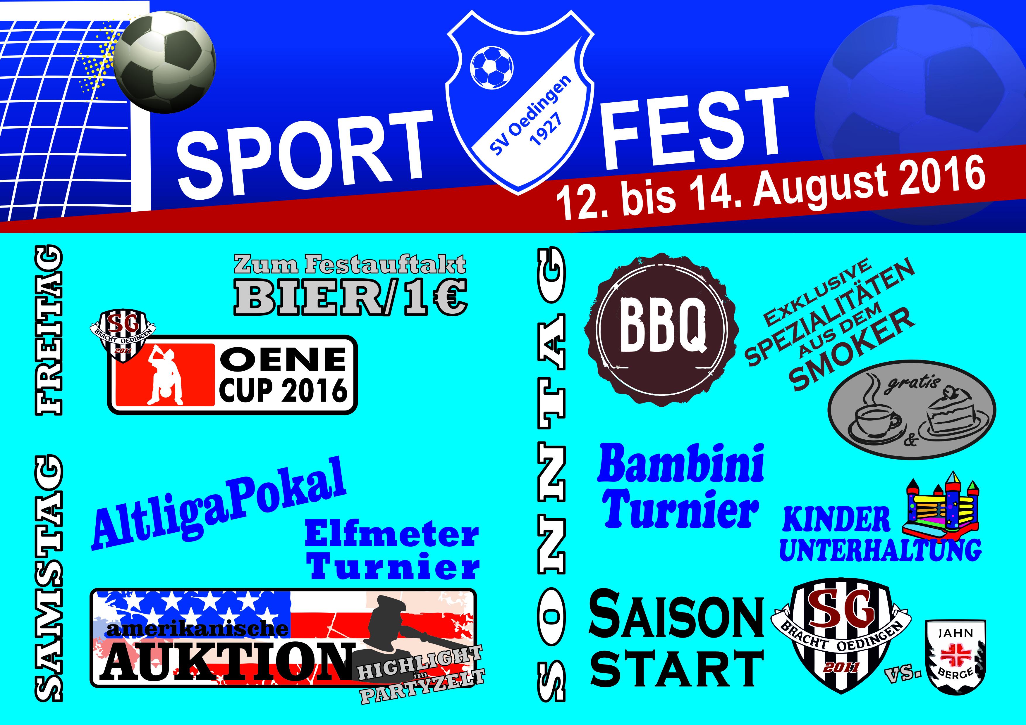 Bild von +++ Sportfest vom 12. bis 14. August +++