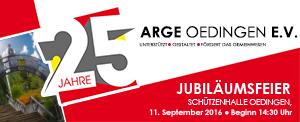 Jubiläum ARGE