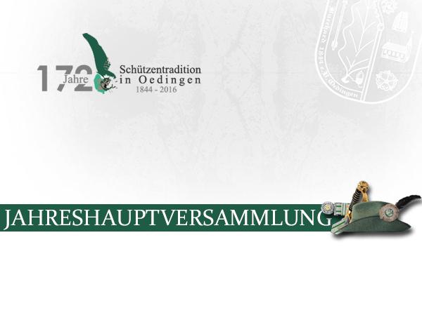 """Bild von Schützen tagen bei """"Oedinger Dreiklang"""" – Jahreshauptversammlung 2016"""