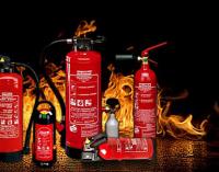 Feuerlöscher-Prüfaktion in Oedingen