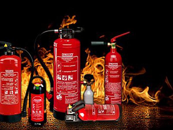 Bild von Feuerlöscher-Prüfaktion in Oedingen