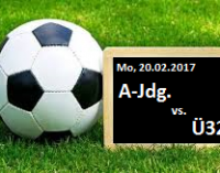 Testspiel: A-Jugend gegen Ü32