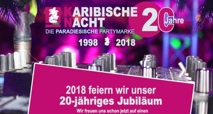 Karibische Nacht 2017 Bilder online – Paradiesische Partymarke feiert 2018 20ten Geburtstag
