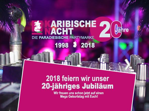 Bild von Karibische Nacht 2017 Bilder online – Paradiesische Partymarke feiert 2018 20ten Geburtstag
