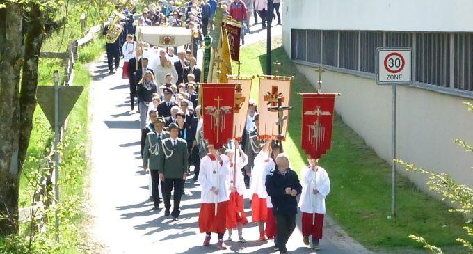 Prozession an Christi-Himmelfahrt