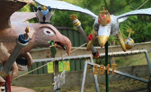 Schützenvögel 2017 fertig gestellt