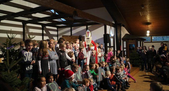 Nikolausfeier in der Schützenhalle