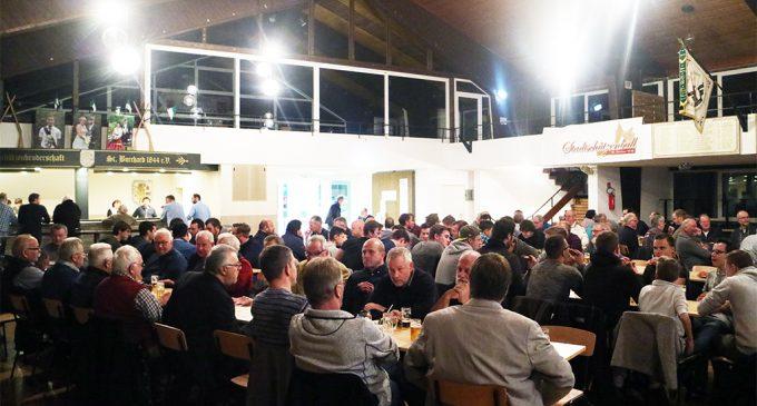 Oedinger Burchard Schützen beschließen Umbau des Speisesaals