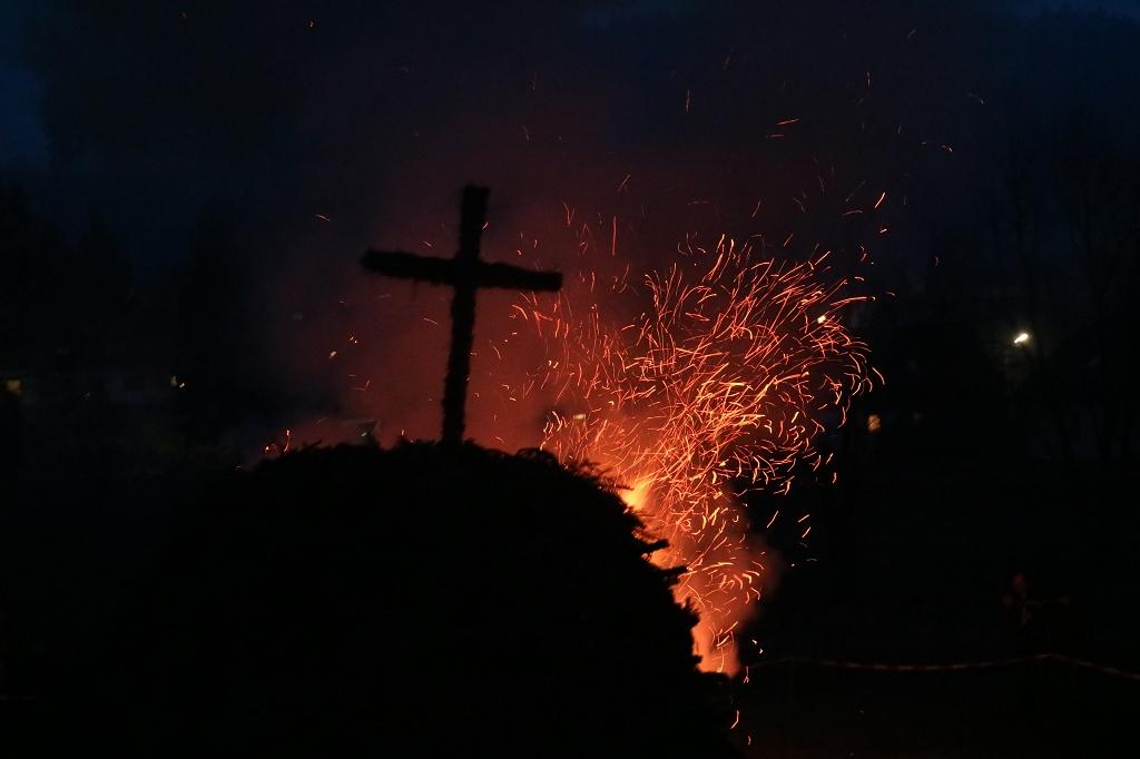 Bild von Einladung zur Brauchtumspflege an Ostersonntag: Osterfeuer!