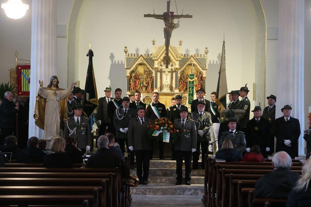 Bild von Hochamt und Gedenkfeier zum Volkstrauertag am 18.11.2018