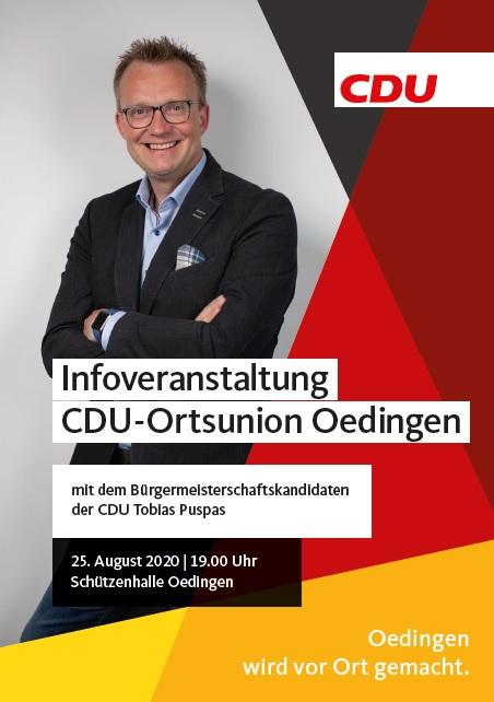 Bild von Info-Veranstaltung am 25.08.der CDU Oedingen