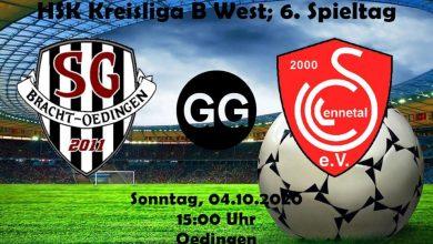Bild von SG spielt zuhause gegen den FC Lennestadt
