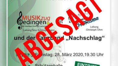 Bild von Frühlingskonzert abgesagt