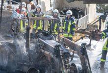 Bild von Gebäudebrand