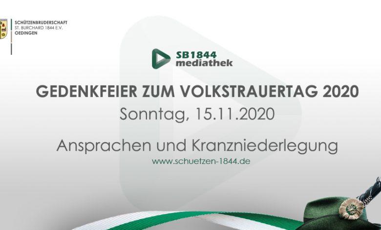 Bild von Gedenkfeier Volkstrauertag 2020 | Ansprachen und Kranzniederlegung im Videostream