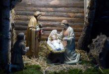 Bild von Weihnachten im Schuhkarton