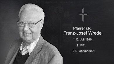 Bild von Pfarrer Franz-Josef Wrede plötzlich verstorben