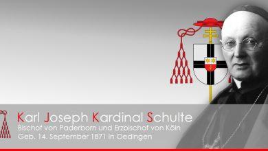Bild von Vor 150 Jahren wurde Kardinal Schulte geboren